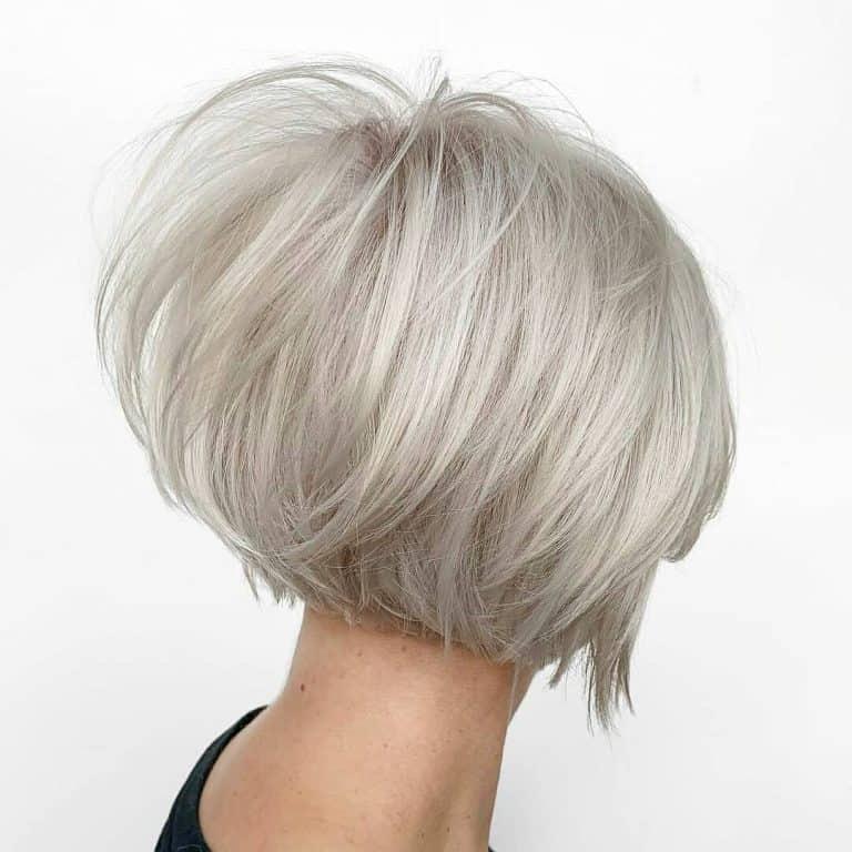Women with Short Grey Hair