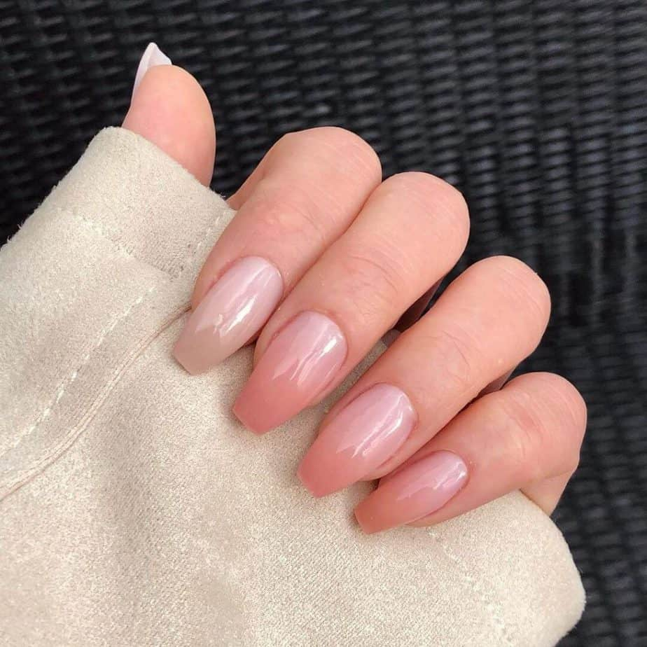 Natural Looking SNS Nails